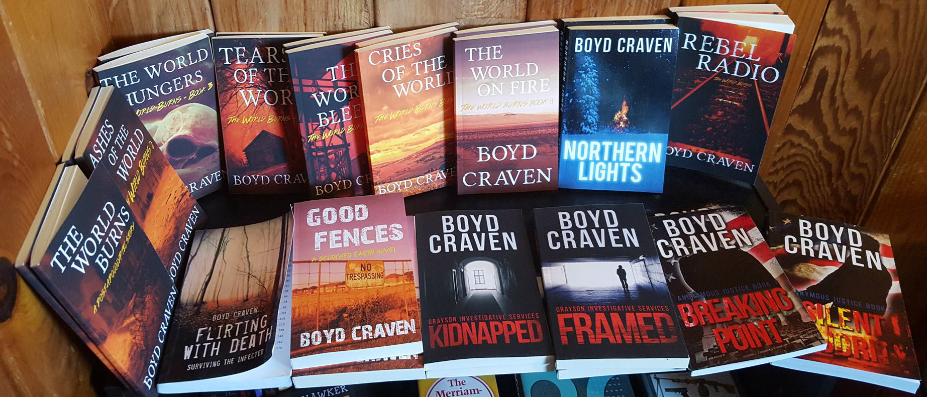 Boyd Craven - Author, Father, Lunatic